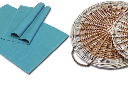 07 LINENS / TEXTILES AND NAPKINS