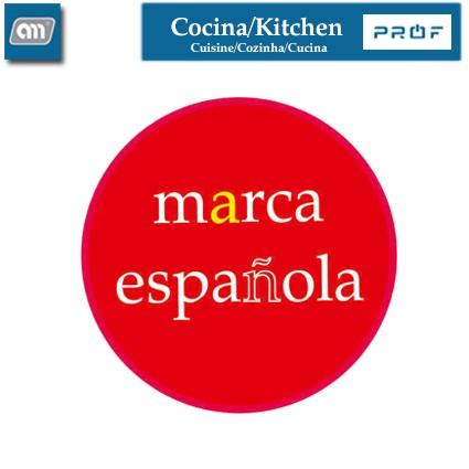 BLISTER ESPADA PINCHO 50 CM INOX [ENAMEL PROF]