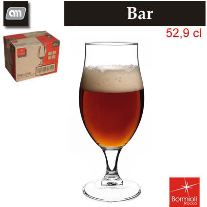 CUP 52,9 CL 0,4 BEER EXECUTIVE BORMIOLI