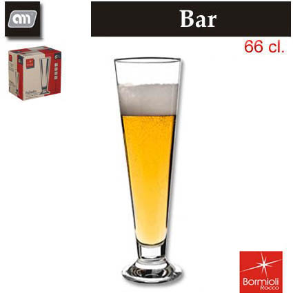 GLASS 66 CL BEER PALLADIO BORMIOLI..