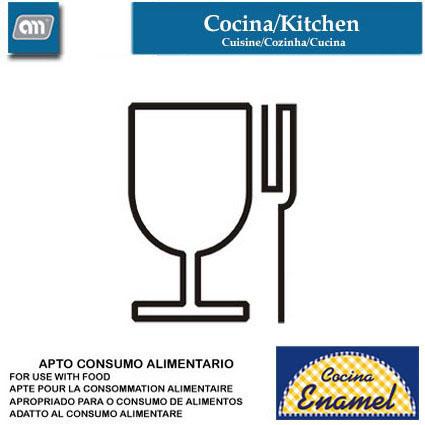 PALA/ESPATULA 25 CM CORTADA MADERA WOOD[ENAMEL]