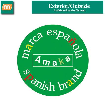 JUEGO JARDINERA + PLATO 40 CM PLAST [AMAKA]